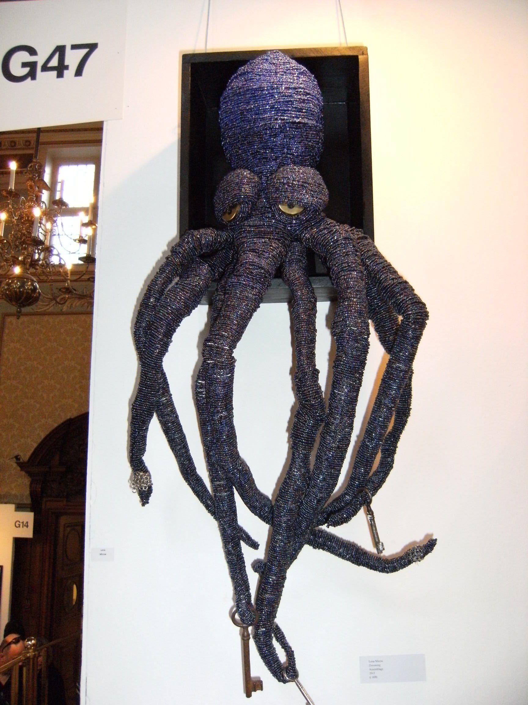 wonderful beaded octopus