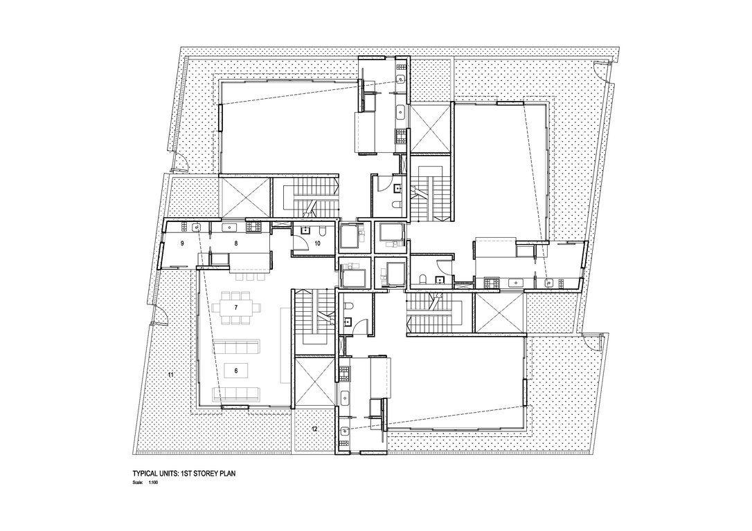 Marvellous Cluster House Plans Ideas Best Idea Home Design - Cluster home floor plans