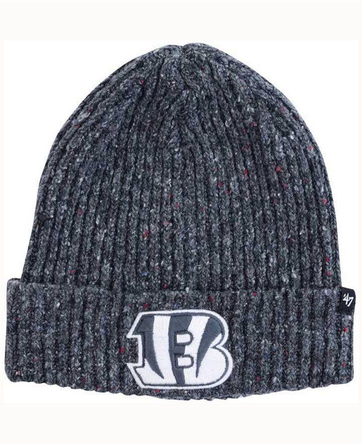 21f35f4b3 47 Cincinnati Bengals Nfl Back Bay Cuff Knit Hat