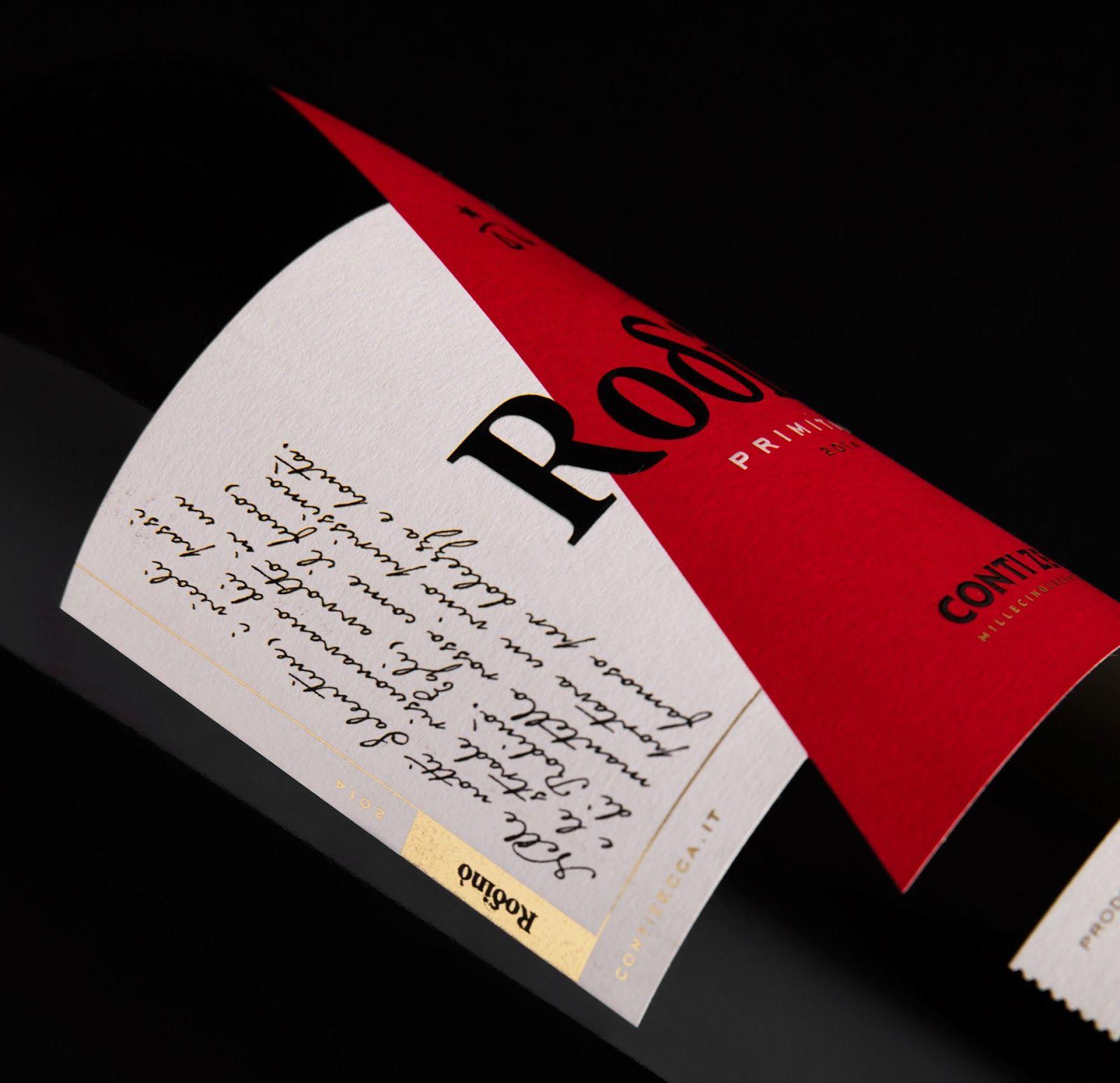Rodino Conti Zecca Wine Label Wine Label Wine Label Design Wine Packaging