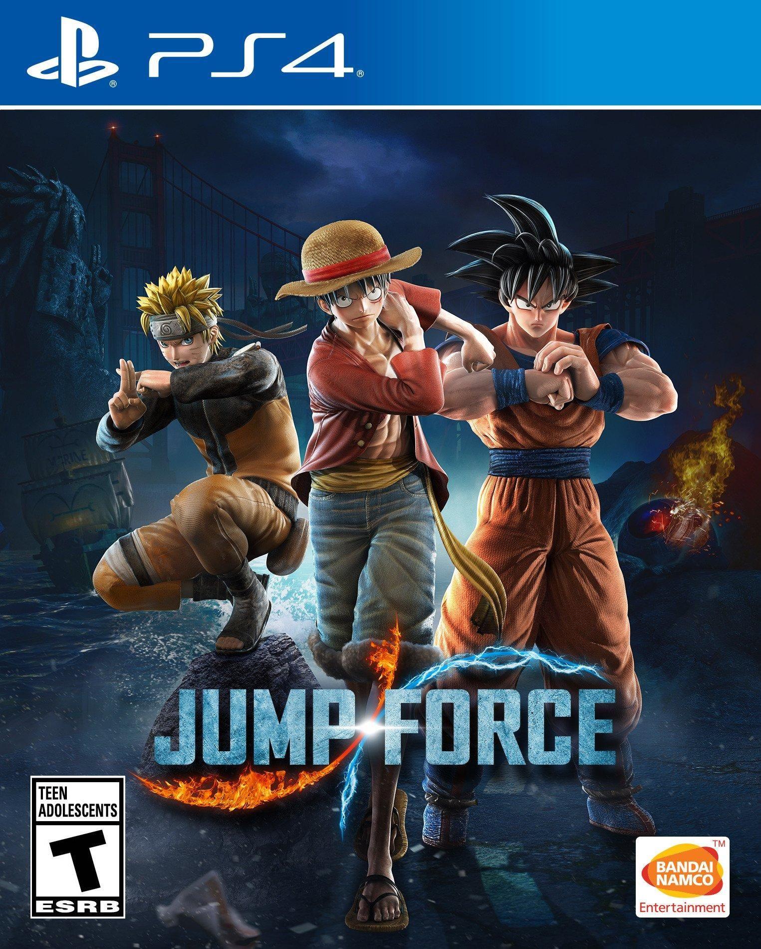 Jump Force PlayStation 4 GameStop in 2020 Bandai