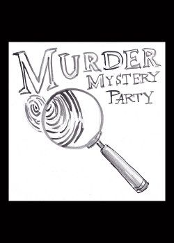 Free Printable Murder mystery party Decorations and