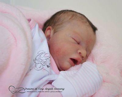 Azraya Faith Prototype By Nicole Russell Reborn Baby Girl Art Doll Free Ship Reborn Babies Reborn Baby Girl Baby Girl Art
