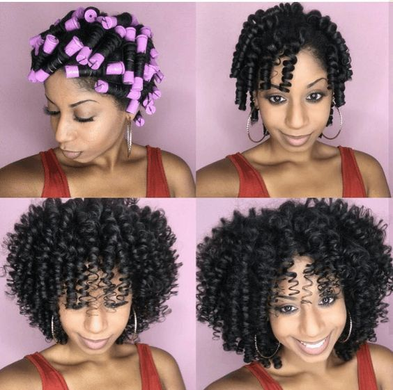 Medium Length Natural Hair Can Feel Like An Awkward In Between Stage