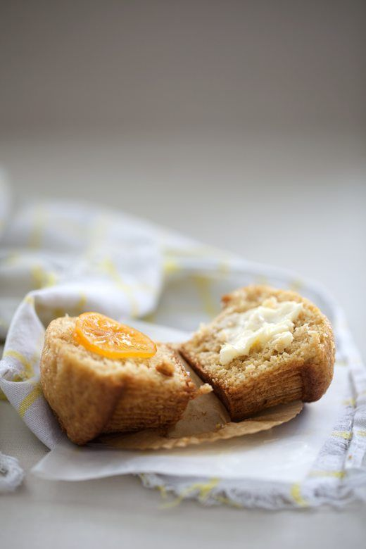 meyer lemon mascarpone muffins