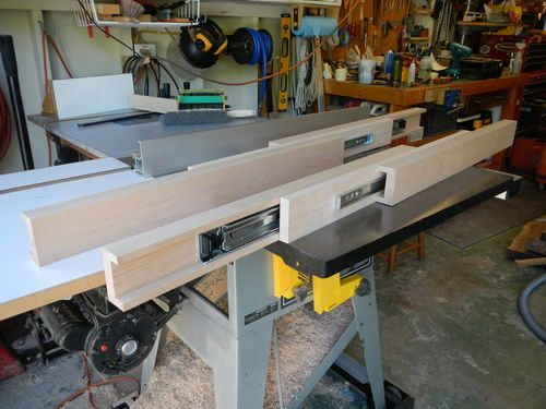 Dining Table Extension Slides By Davesj Lumberjocks Com Woodworking Community Extension Dining Table Long