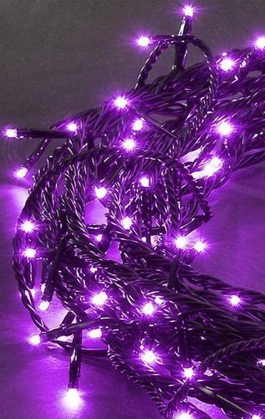 purple christmas lights - Teardrop Christmas Lights