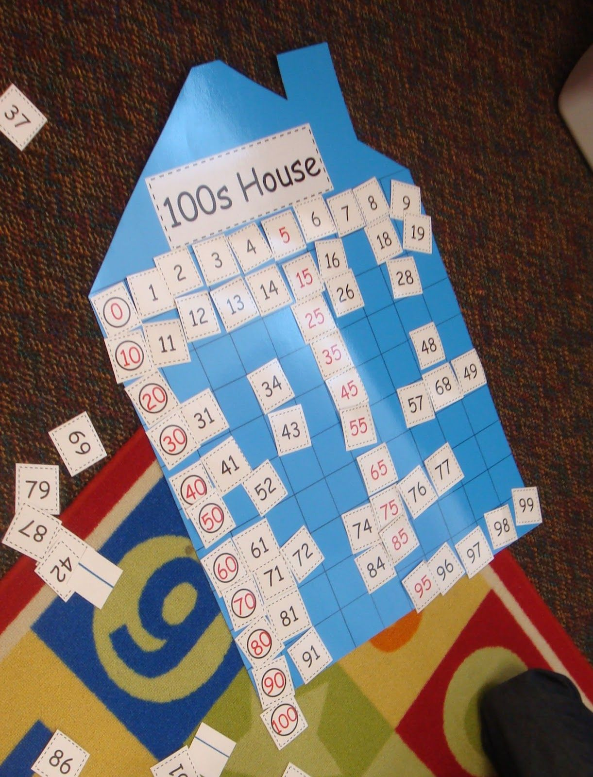 100th Day Of School Number Cards 0 100 With Images