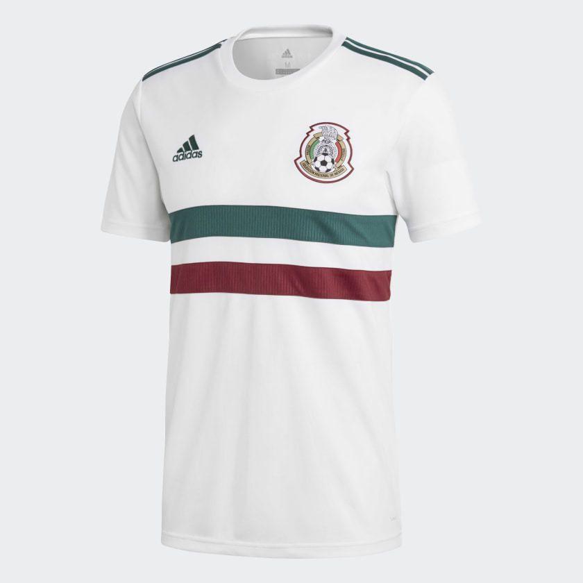 cc9842d53745 eBay  Sponsored adidas Mexico Official 2018 Away Soccer Football Jersey