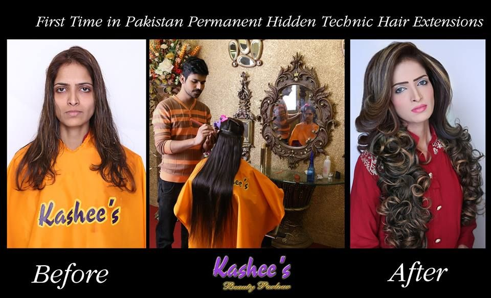 Balayage On Dark Hair Prices Kashee's Permanent Hair Extension Price Details Hair