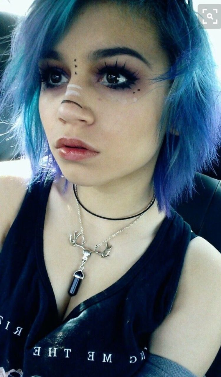 Outersphere Colorful Hair Emo ličila, alternativa-5351