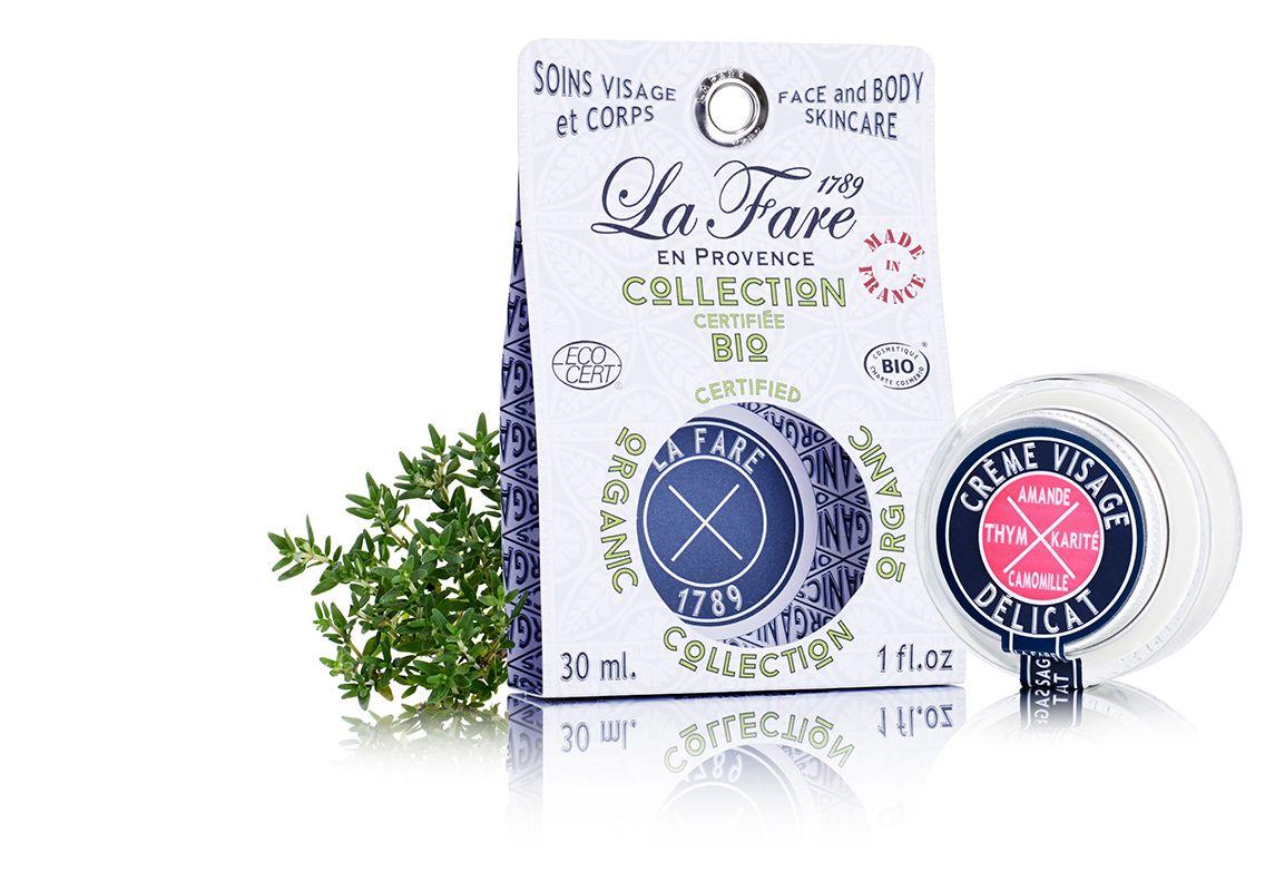 Crème Visage Délicat BIO http://www.lafare1789.com/fr/le-visage-cosmetique-bio-made-in-france/13-creme-visage-delicat-bio-made-in-france-3770004527083.html
