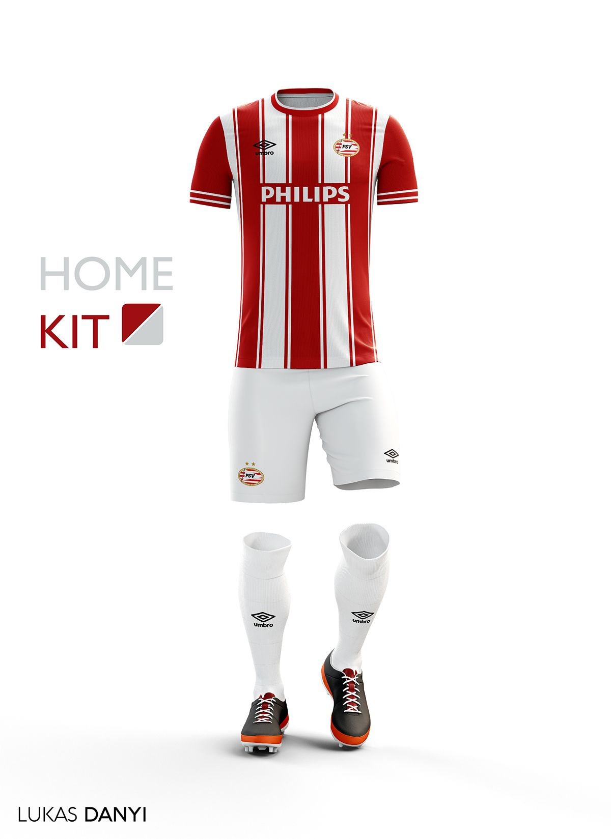 3921f2336 I designed football kits for PSV for the upcoming season 16 17 ...