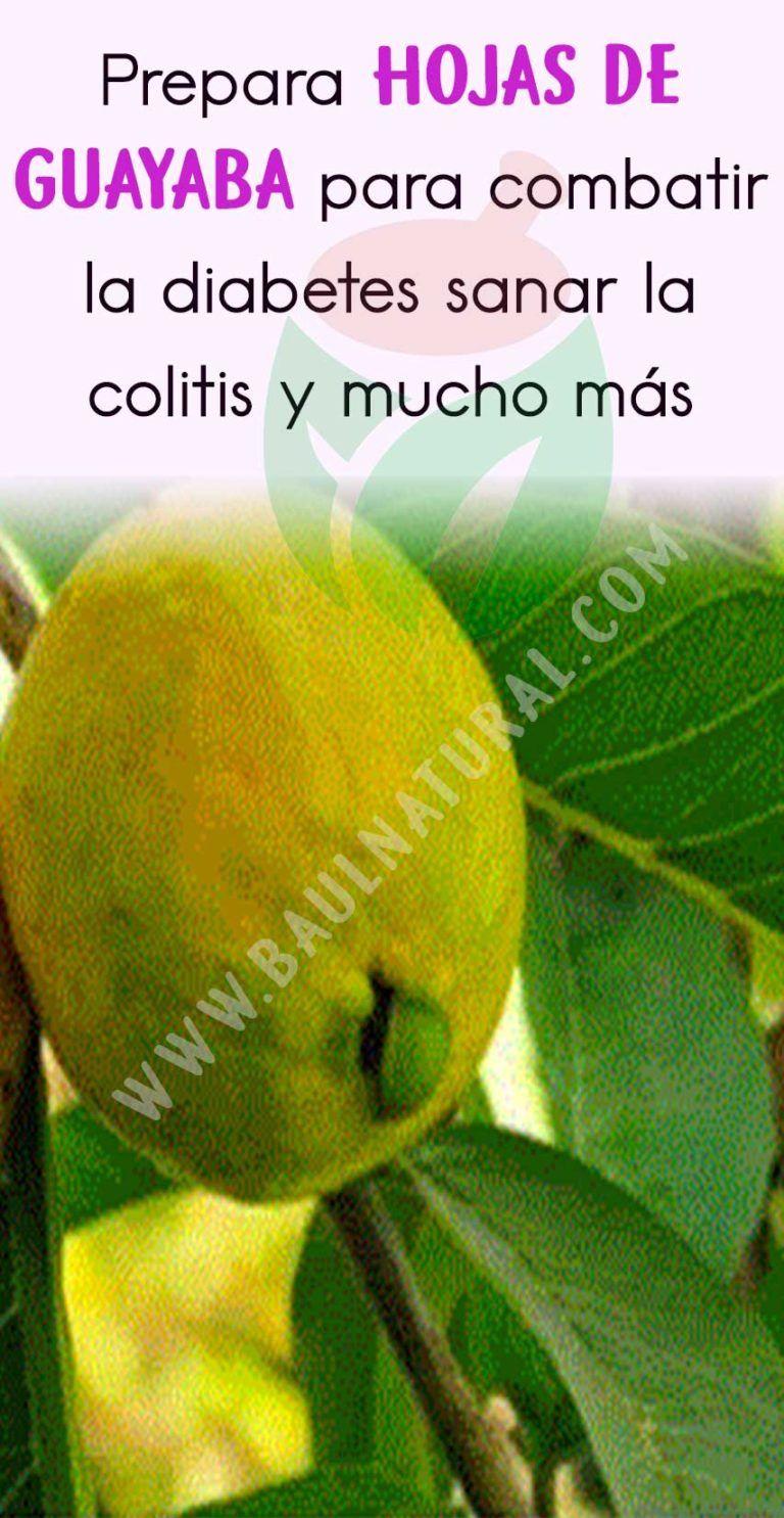 te de hojas de guayaba sirve para la colitis