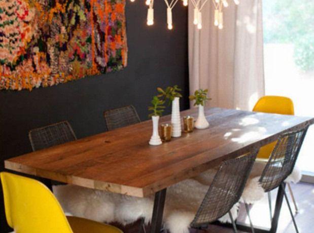yellow diner room - Recherche Google