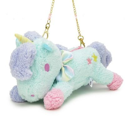 Cute unicorn doll mini chain bag small bag from Harajuku fashion #chainbags