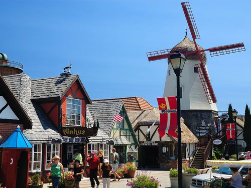 Solvang, California Travel Guide - we love going to the outdoor theater in the center of town during the summer