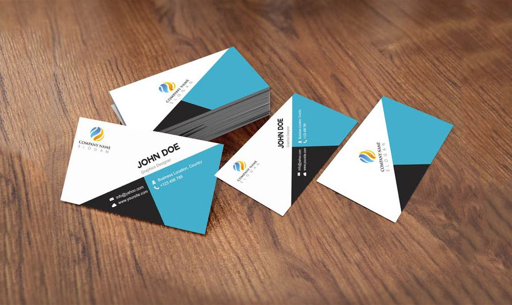 Cool 13 Free Business Card Templates PSD Here, we have - id card psd template