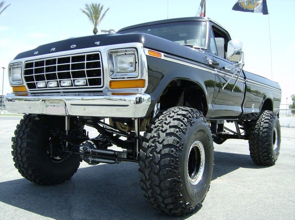 Jacked Up Ford Trucks Trucktough Trucks And Cars Pinterest