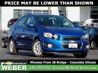 2016 Chevrolet Sonic Vehicle Photo In Columbia Il 62236