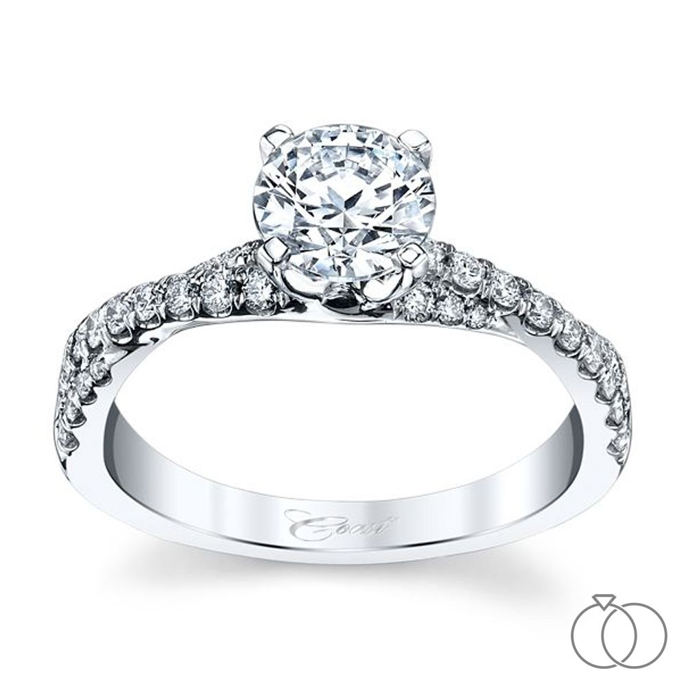 Coast Diamond Three Marriage Proposal Ideas And: Coast Diamond 14K White Gold Diamond Engagement Ring