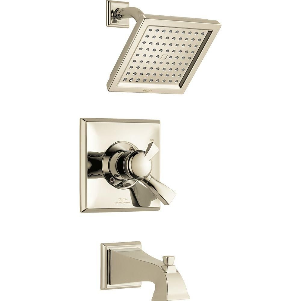 Delta Dryden Single Handle Tub And Shower Faucet Trim Kit In