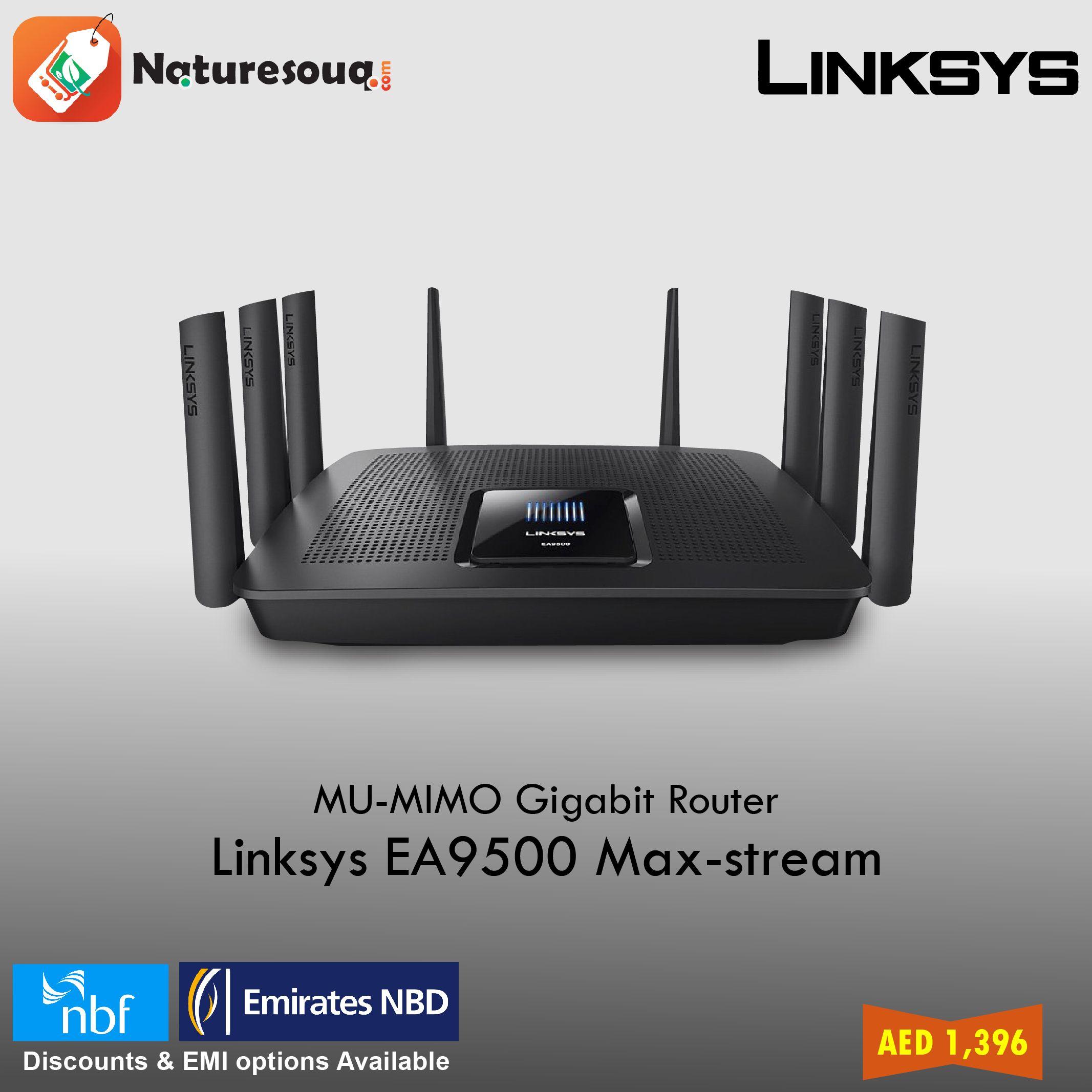 Linksys Ea9500 Max Stream Ac5400 Mu Mimo Gigabit Router Black Make D Link Dir 842 Wireless Ac1200 Your