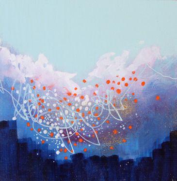 "Saatchi Online Artist Georgina Vinsun; Painting, ""Margaret - SOLD"" #art"