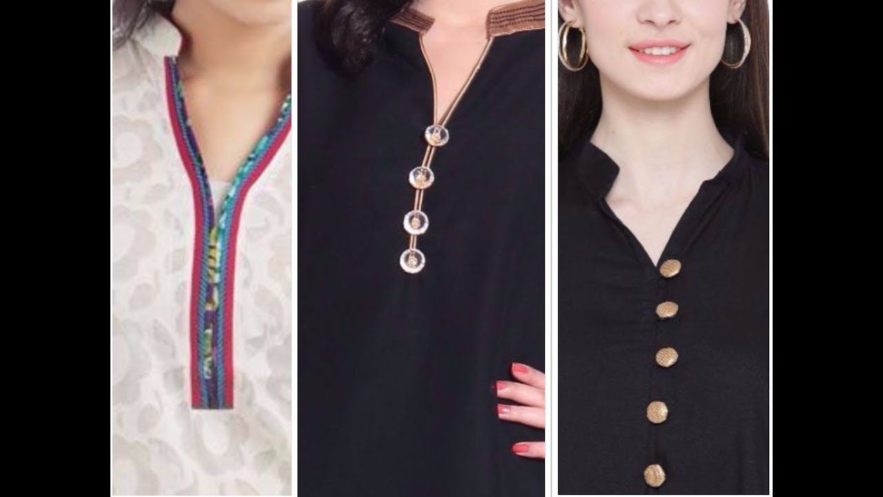 Latest Branded Neck Designs For Branded Kurti And Salwar Suit 2017-2018. 0e1fdb501