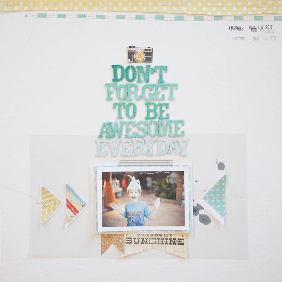 don't forget to be awesome everyday  Marcy Penner