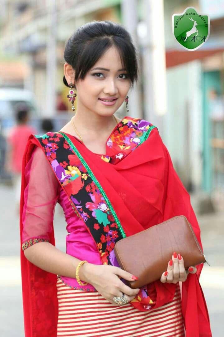 A Manipuri House Wife  Manipuri Girls In 2019 -7607