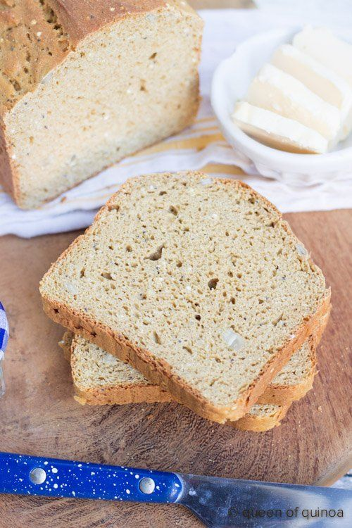 Gluten Free Quinoa Bread Recipe Simply Quinoa Recipe Quinoa Bread Quinoa Recipes Healthy Gluten Free Bread