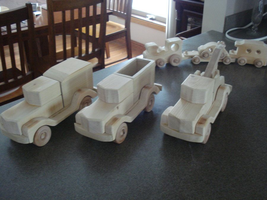 3 trucks for the sandbox - by prez @ LumberJocks.com ~ woodworking community