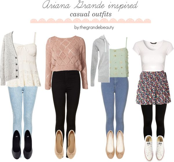 Ariana Grande inspired casual outfits. *Requested* | My ...
