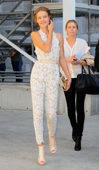 Stella Mccartney White Lace Jumpsuit   Google Search