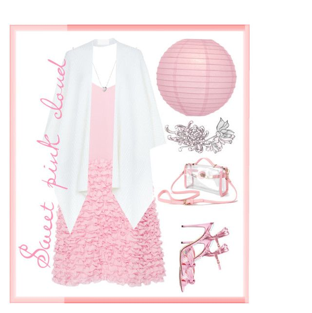 """""""Sweet pink dream"""" by tatjanasega on Polyvore featuring Cynthia Rowley, Cultural Intrigue, Gucci, Links of London and Harrods"""