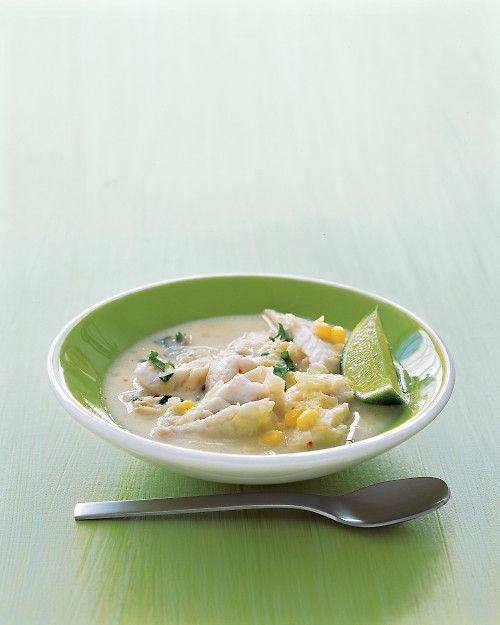 Coconut Fish Chowder Recipe Fish Chowder Coconut Fish