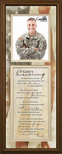 God's Covering Photo Frame | Carpentree