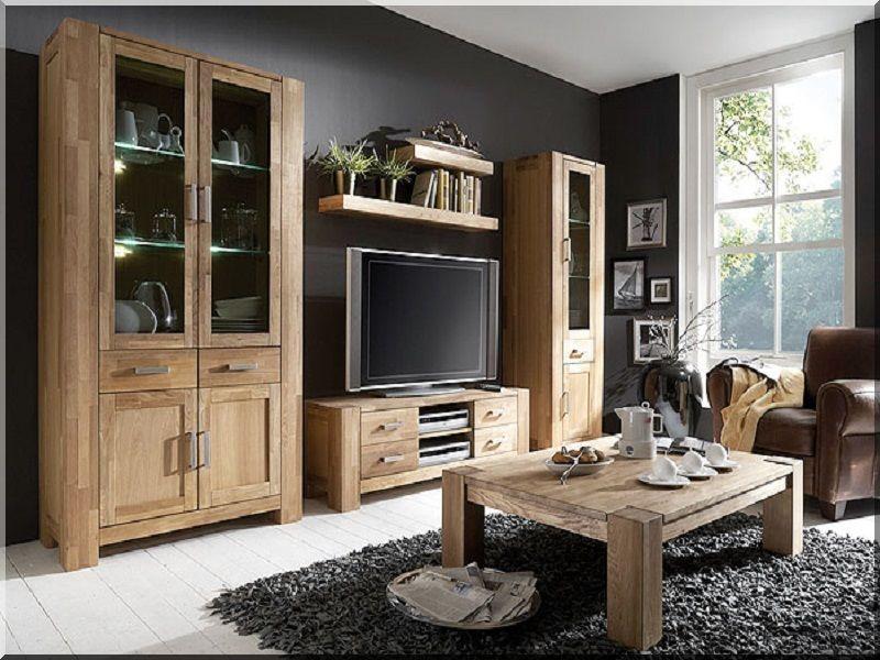 Moderne Wohnzimmerschränke ~ Wohnwand ravenna wohnzimmerschrank anbauwand eiche nelson 20681