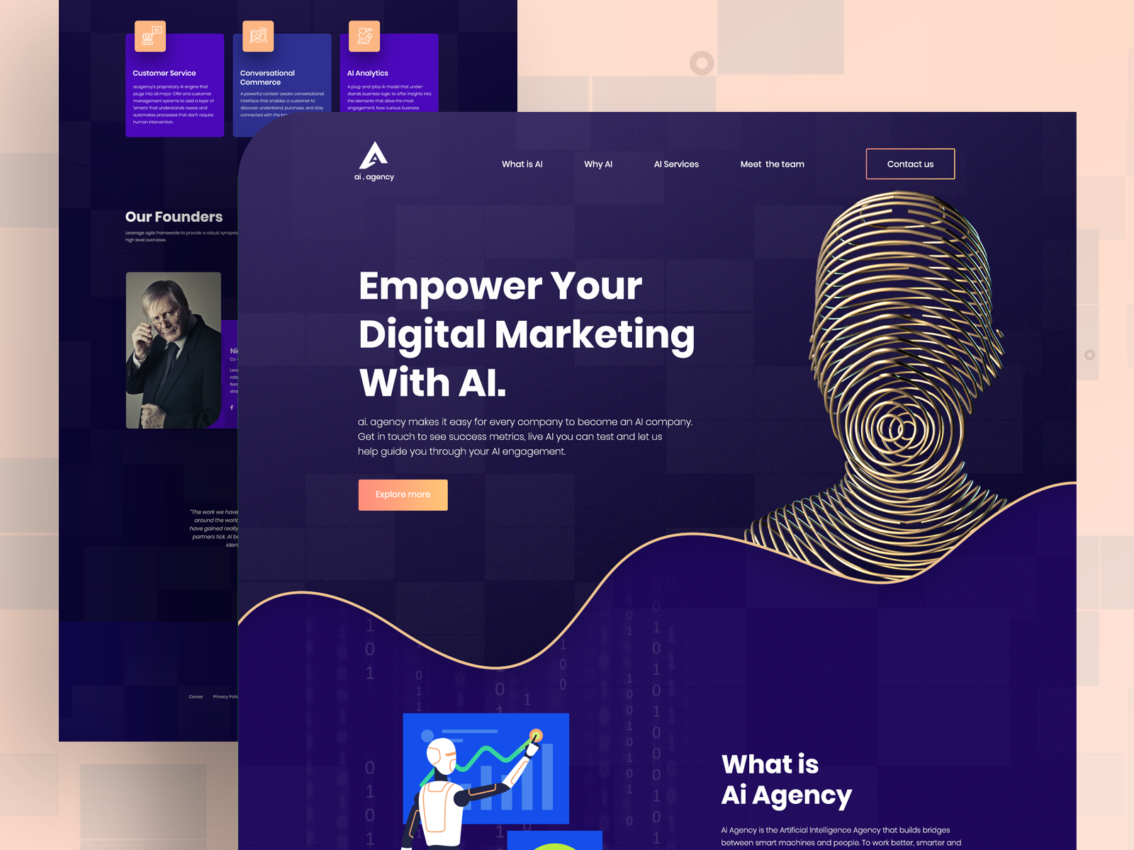 Landing Page Exploration Landing Page Conceptual Design Digital Marketing