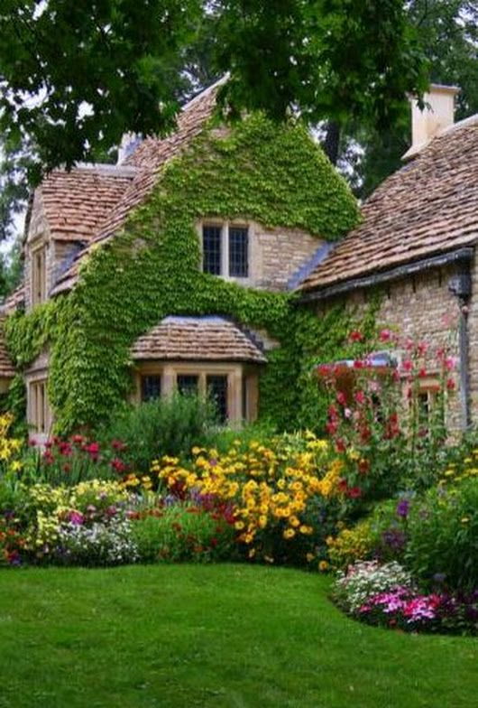 ANGLIA | English cottage garden, Country cottage garden ...