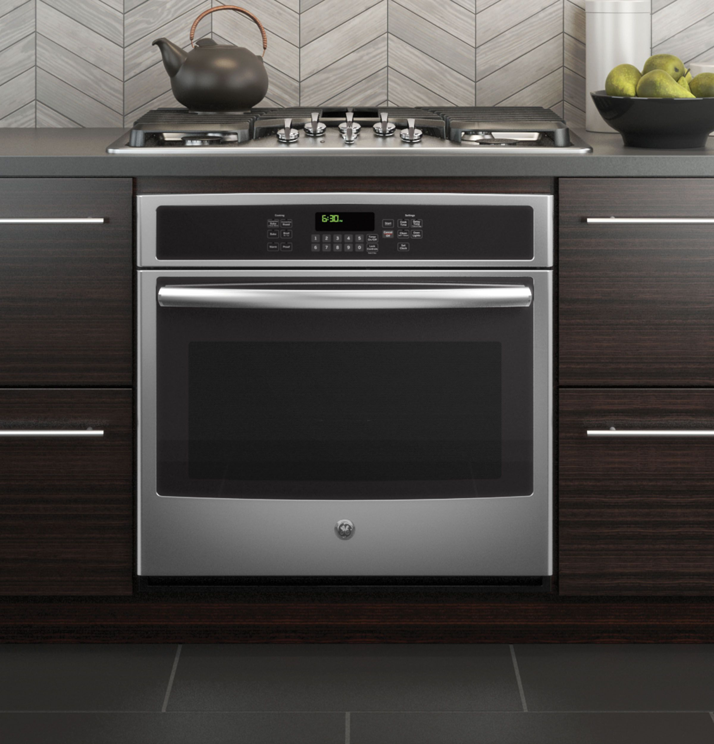 Ge 30 Built In Single Convection Wall Oven Jt5000sfss Single Electric Wall Oven Electric Wall Oven Convection Wall Oven