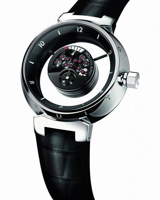 Louis Vuitton Tambour Mysterieuse Watch