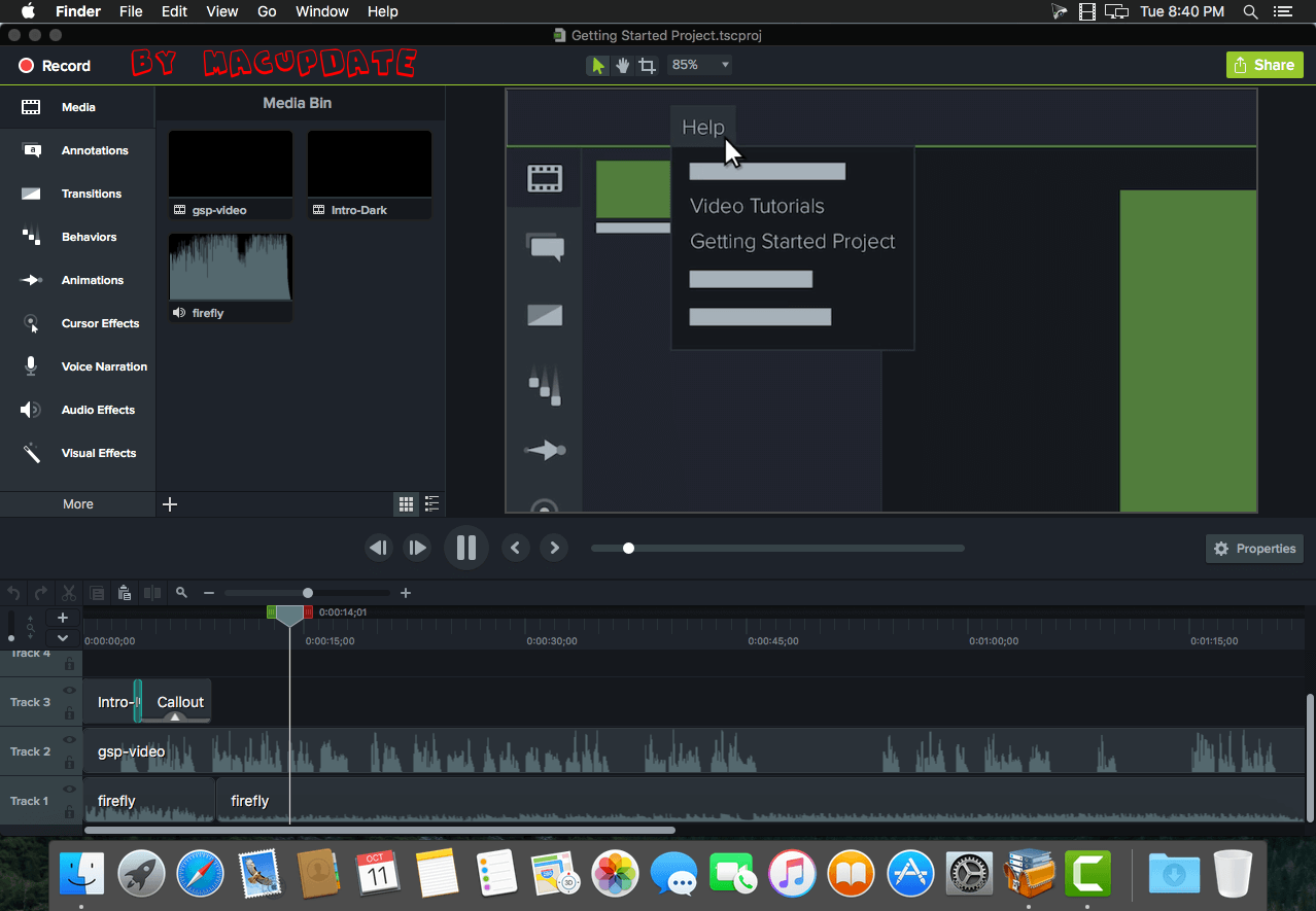 Camtasia 3.1.0 - Video Editor & Video Editing Software (macOS ...