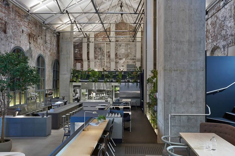 ambitious space in a former melbourne power station puts itself on