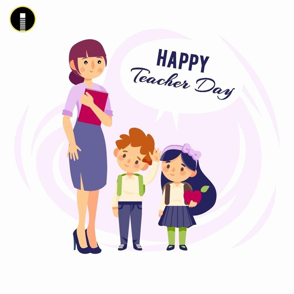Congratulations Free Download Lovely Download Free Flyer Templates Whatsapp Instagram In 2020 Teachers Day Card Teachers Day Greeting Card Happy Teachers Day