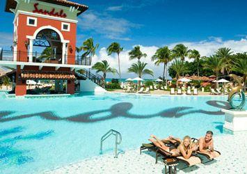 Sandals Grande Antigua Resort Spa Air Canada Vacations