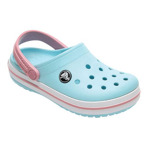 e018e128 Infants/Toddlers Crocs Crocband Clog Kids - Ice Blue/White Clogs in ...