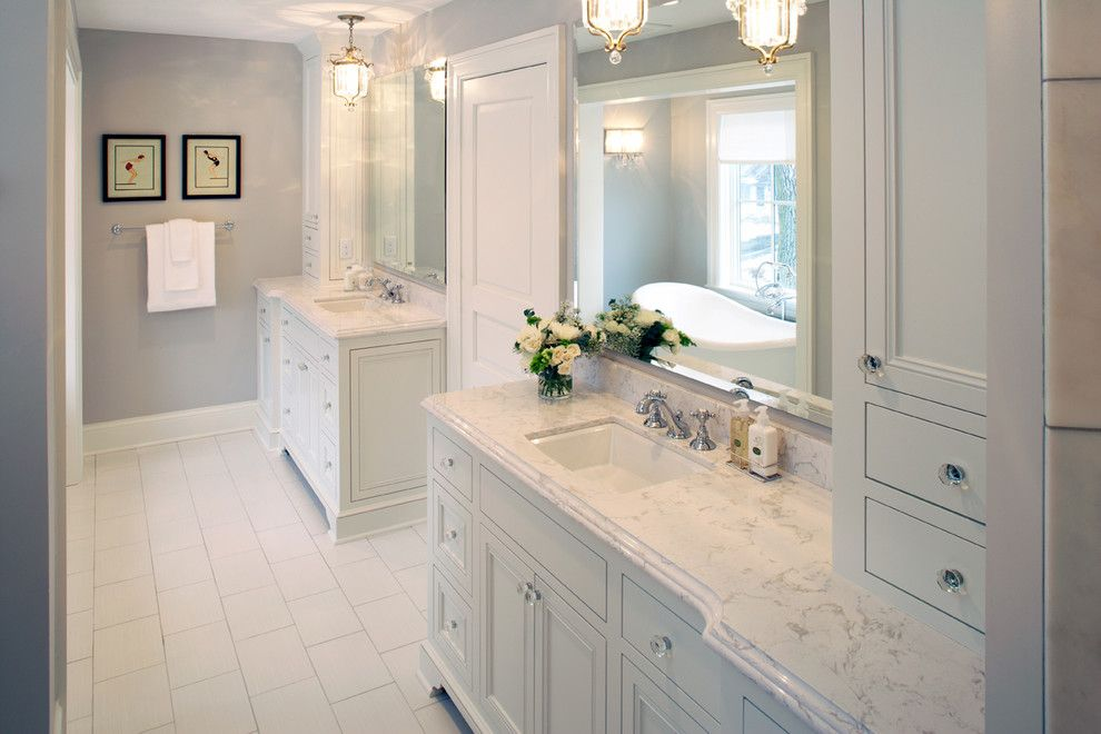 Cambria Torquay From The Waterstone Collection   Traditional   Bathroom    Minneapolis   Cambria