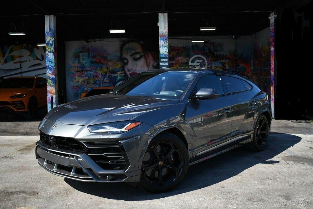 2019 Lamborghini Urus 2019 Used Turbo 4l V8 32v Automatic Awd In 2021 Lamborghini Awd Turbo